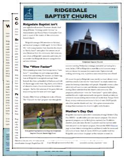 Ridgedale Baptist Customer Story